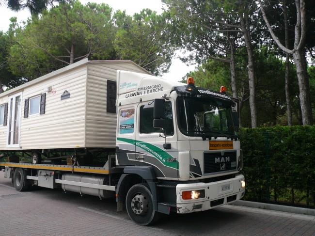 Soluzioni di trasporto case mobili usate special mobil for Ditte mobili